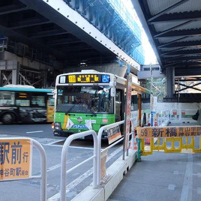 都バス1日乗車券で2018年元旦の都心バストリップ