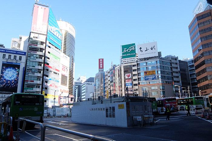渋谷駅東口バスターミナル