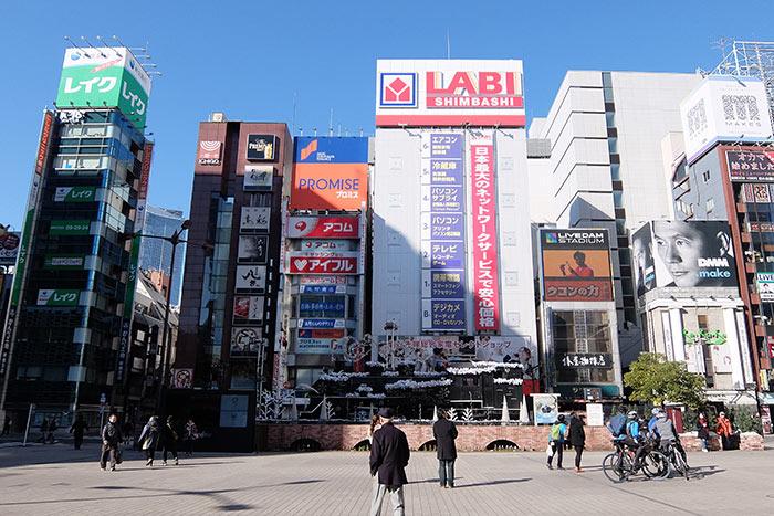 新橋駅SL広場